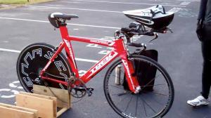 Andy Triathlon Bike - Go red